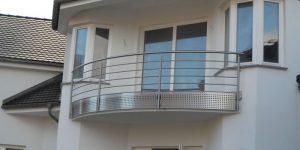 Stalmach Balkon- & Terrassengeländer Nr. 6 - Waagrechte Sprossen