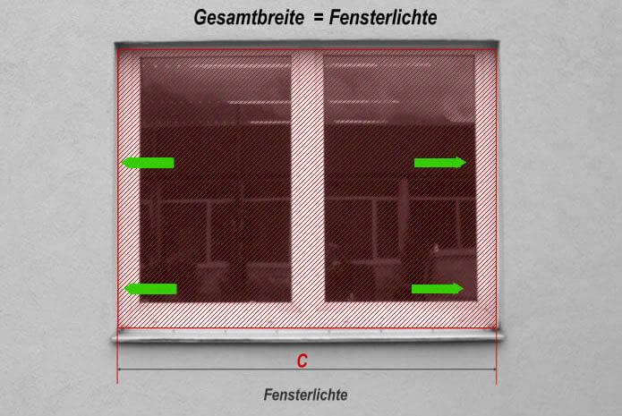 Stalmach Fenstergitter vermessen