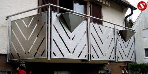 Balkon- & Terrassengeländer Nr. EP 1