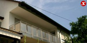 Balkon- & Terrassengeländer Nr. EP 5