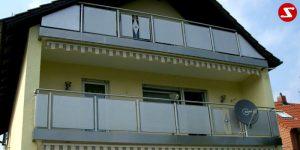 Balkon- & Terrassengeländer Nr. EP 8