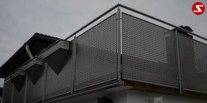 Balkon- & Terrassengeländer Nr. EP 9