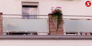 Balkon- & Terrassengeländer Nr. GP 6
