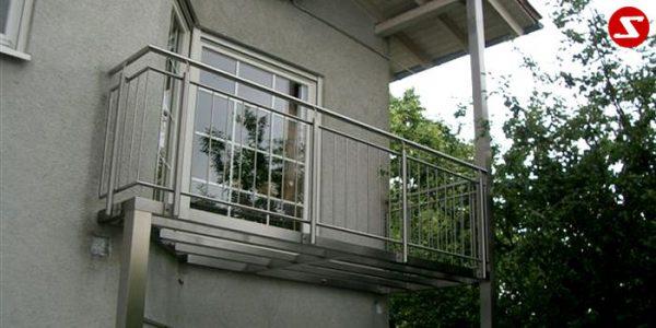 Balkongeländer und Terrassengeländer Nr. SS 2