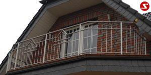 Balkon- & Terrassengeländer Nr. SS 4