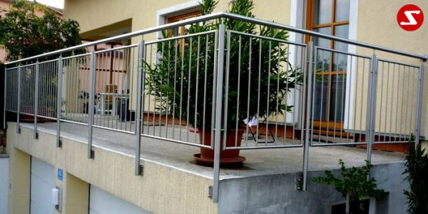 Balkon- & Terrassengeländer Nr. SS 7 # 4