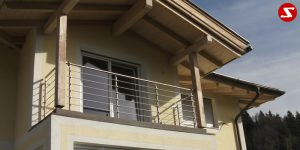 Balkon- & Terrassengeländer Nr. WS1