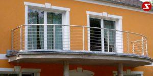 Balkongeländer und Terrassengeländer Nr. WS 5