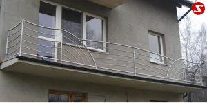 Balkongeländer und Terrassengeländer Nr. WS 8