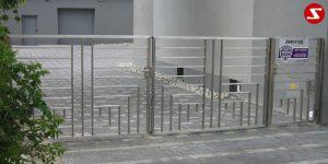 Edelstahl Einfahrtstor Nr. 13