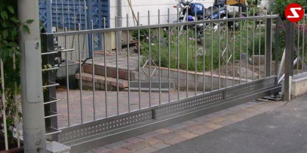 Edelstahl Einfahrtstor Nr. 14