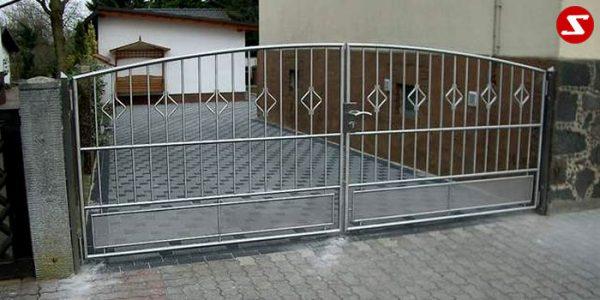 Edelstahl Einfahrtstor Nr. 2
