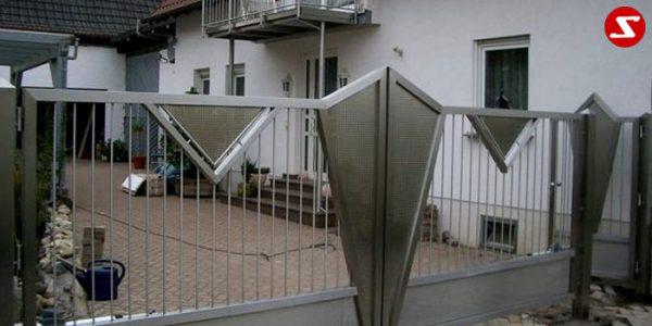 Edelstahl Einfahrtstor Nr. 3