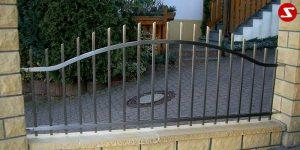 Edelstahl Zaun Nr. 1