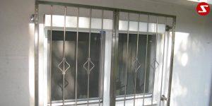 Fenstergitter-Nr.-SS 1 Drehbar