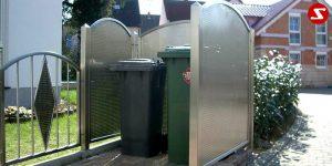 Müllbox Nr. 6 - Verbauung