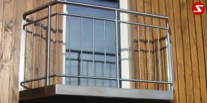 Französischer Balkon Nr. SS14 Begehbar