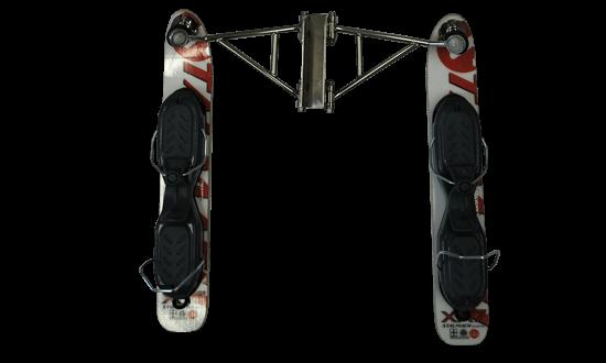 """quan-top-ankle-details. Der Snowbike """"Quan"""" für Personen mit Behinderung ist höhenverstellbar. Der Spezial Snowbike ist für Menschen mit Handicap bestens  geeignet. Der Skibob ist für Skibike Anfänger und Snowbike Fortgeschrittenen entwickelt.  Der Skibob """"Quan"""" ist der beste, spezielle  Skibob, Snowbike, Skibike für Personen mit Handicap um den Wintersport zu erleben.  Snowbike """"Quan"""" hat sehr viele Einstellungssysteme wie; Sitzverstellbar nach vorne und hinten sowie nach oben und unten. Skineigung ist bei diesem Snowbike einstellbar. Dieser Snowbike hat sehr gute Gas-Stoßdämpfer die beliebig eingestellt werden können. Der Skibike Lenker aus Aluminium ist einstellbar. Die Snowbike Carving Ski haben eine Bindung namens Schnellverschlussplatten. Dieser Snowbike ist aus Edelstahl und Aluminium gebaut. Dieses Wintersportgerät ist perfekt für Menschen mit Behinderung. Viele Personen mit Handicap lernen und fahren diesen Snowbike. Mit dem Skibike Quan ist der Wintersport Barrierefrei. Skibobfahren lernen bei der Skibob Schule Stalmach in Saalfelden, Österreich, Pinzgau"""