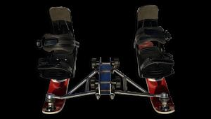 Quan Fußsystem Top Ankle Snowboardbinding